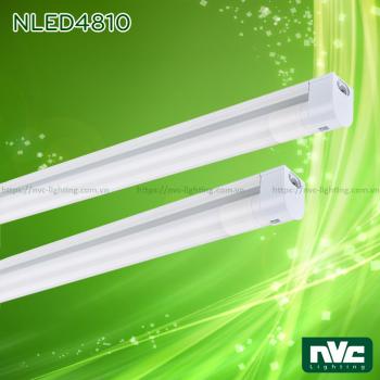 NLED4810A NLED4810E 9W 18W - Bộ đèn tuýp LED T8 module, máng tích hợp chấn lưu rời