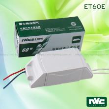 ET60E - Bộ đổi nguồn 220V sang 12V tương thích cả bóng halogen và LED (MR16, G4, G5), dùng cho bóng đèn chùm sợi đốt, đèn tranh, đèn gắn tường