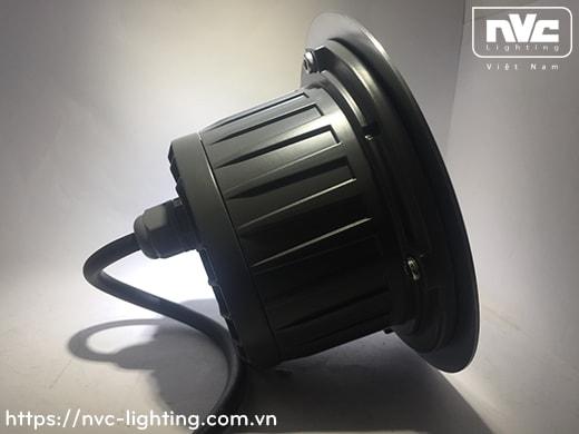 NELED4204 13.5W - Đèn LED âm đất chiếu rọi, mặt inox 316, kính cường lực 8mm, chip Cree, Ø60mm, góc chiếu 20°, 35° và 45° IP67