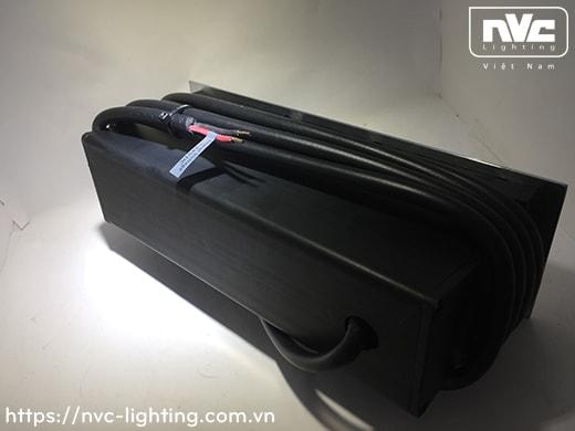 NSLED4315 12.5W - Đèn LED âm nước thân inox 316, kính cường lực 9mm, đệm cao su EDPM kín nước, chip Osram, IP68