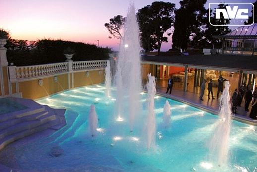 Ứng dụng chiếu sáng đèn bể bơi NSLED4323