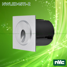 NWLED4511 3W 3.5W - Đèn LED dẫn hướng chiếu lối đi ngoài trời, chip Cree mặt vuông hoặc tròn, thân hợp kim nhôm đúc, Ra 80, IP65, tuổi thọ 30.000h