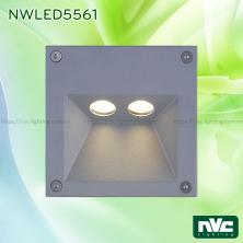 NWLED5561 3.5W, NWLED5562 5W, NWLED5563 7.5W - Đèn dẫn hướng chiếu lối đi, chip Cree IP65, thân nhôm đúc cao cấp, Ra 80, tuổi thọ 30.000h