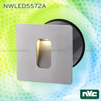 NWLED5571A NWLED5572A 4W - Đèn dẫn hướng LED chiếu lối đi ngoài trời, chip Cree IP65 đạt chuẩn CE, thân hợp kim nhôm đúc cao cấp, mặt inox 304 chống gỉ, vân tán sáng đều, Ra 80, tuổi thọ 30.000h