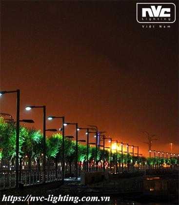 Ứng dụng chiếu sáng đèn đường LED NRLED71*