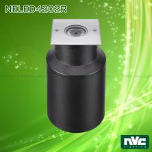 NELED4202 2.5W - Đèn âm đất chiếu rọi thân nhôm đúc, mặt inox 316, kính cường lực 5mm, chip Cree, chịu lực tối đa 321kg Ø10mm, IP67