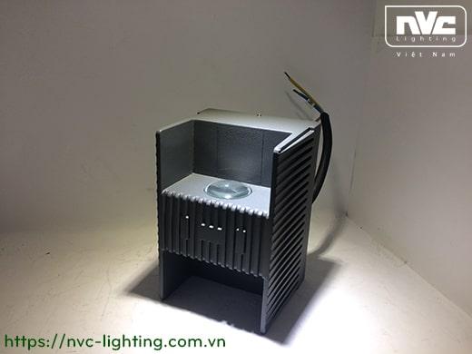 NWLED3515 7W NWLED3516 14W - Đèn LED surface wall light gắn tường IP54 45° mặt vuông, chiếu 1 đầu hoặc 2 đầu, chip CREE, thân nhôm đúc, kính cường lực trong