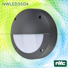 NWLED3504 3W IP54 - Đèn LED gắn tường nhiều kiểu dáng, chiếu hành lang, ban công, thân nhôm đúc nguyên khối