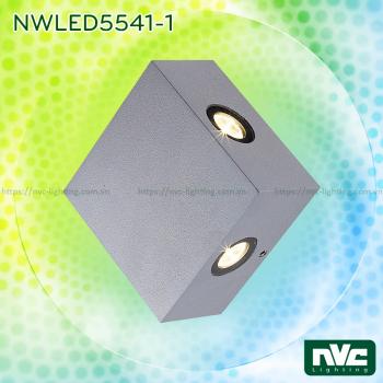 NWLED5541 5.5W - Đèn LED gắn tường surface wall light chiếu sáng 4 góc, chip Cree, thân nhôm đúc, kính cường lực trong xuyên sáng tốt, IP54