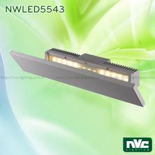 NWLED5543 21W - Đèn LED gắn tường surface wall light chiếu hắt gián tiếp, chip Cree, thân nhôm đúc, kính cường lực mờ, IP54