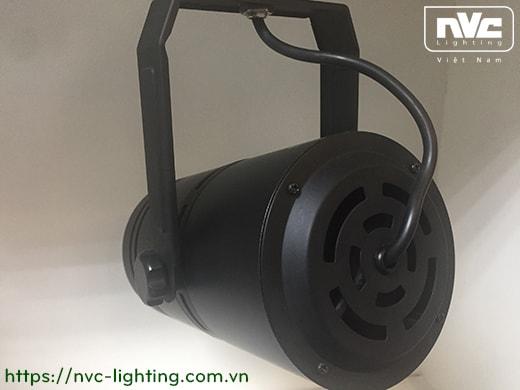 TLED311 - Đèn rọi ray SMD liền khối, thân nhôm đúc, sơn tĩnh điện, vân tán sáng, màu đen tuyền hoặc trắng sữa