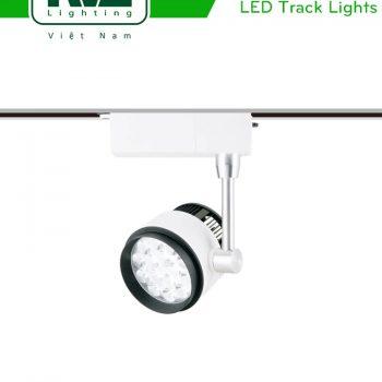 TLED315 - Đèn rọi ray SMD liền khối, thân nhôm đúc, sơn tĩnh điện, trục xoay inox 430