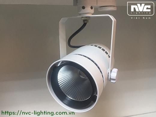 TLED317N 35W & 50W, CRI 90 - Đèn rọi thanh ray LED COB liền khối, thân nhôm đúc sơn tĩnh điện, vân tán sáng