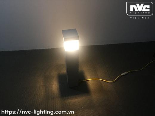 NGLED5663 13W - Đèn trụ sân vườn IP54 chip Cree, thân hợp kim nhôm cán cao cấp phủ sơn tĩnh điện chống han gỉ, phát quang bằng PC trong giúp xuyên sáng tốt, cao 250mm hoặc 650mm