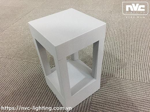 NGLED5653 9w – Đèn trụ sân vườn IP54 chip CREE, thân hợp kim nhôm cán cao cấp phủ sơn tĩnh điện chống han gỉ, lens kính lồi tán quang đều 4 góc, cao 200mm & 650mm