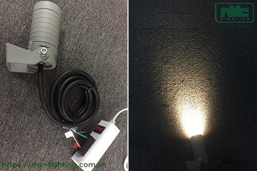 NFLED4011 3.5W – Đèn LED cắm cỏ chip Osram IP65, góc chiếu 30°, CRI > 80, thân nhôm đúc cao cấp phủ sơn tĩnh điện, mắt LED chống chói, mặt kính chịu lực chịu nhiệt 3mm, cao 85mm