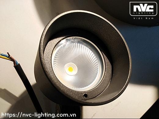 NFLED5012 6.5W 9W – Đèn LED cắm cỏ IP65 chip Cree, góc chiếu 24°, CRI > 80, thân nhôm đúc phủ sơn tĩnh điện chống ăn mòn, mắt LED chống chói, mặt kính chịu lực chịu nhiệt, cao 0.17m