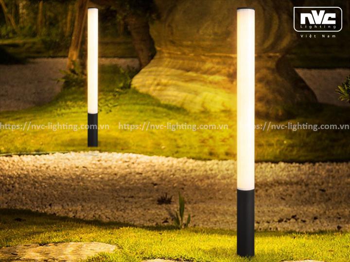 Đèn cột sân vườn bóng metal NG304 NGM304