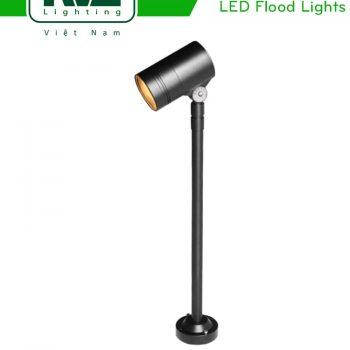 NFLED4021 - Đèn LED cắm cỏ 10.5W-11.5W IP65, góc chiếu 30°, CRI > 80, thân nhôm đúc cao cấp phủ sơn tĩnh điện chống ăn mòn, mặt kính chịu lực chịu nhiệt 3mm, chip SHARP, cao 467mm