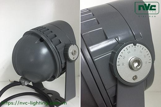 NFLED4012 7W, NFLED4013 13.5W, NFLED4014 18W – Đèn pha LED cắm cỏ chip Nichia CRI 80, IP65, góc chiếu 15°-30°, mắt vân chống chói, thân hợp kim nhôm đúc phủ sơn tĩnh điện chống oxy hóa, kính cường lực 4mm chịu nhiệt