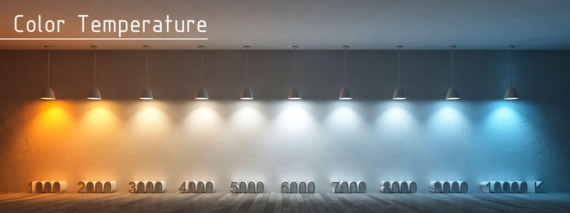 Nhiệt độ màu ánh sáng – Yếu tố quyết định không gian chiếu sáng của riêng bạn
