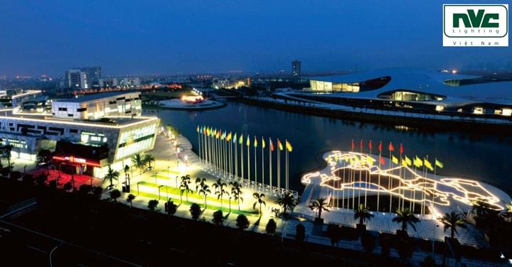 NVC Lighting Á vận hội Quảng Châu 2010