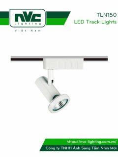 TLN150 TLN150/65 - Đèn rọi ray module, tương thích cả bóng nón/bóng chén MR16 halogen và LED