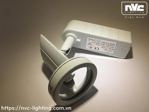 TLN150 TLN150/65 - Đèn rọi ray module, tương thích cả bóng MR16 halogen và LED