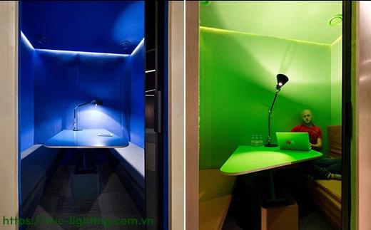 Bí kíp lựa chọn đèn led cho từng không gian phòng hợp lý