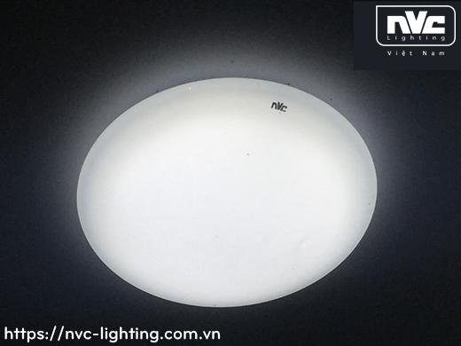 NPXLED1006 – Đèn LED ốp trần nổi ban công, mặt nhựa dẻo, độ xuyên sáng lên đến 90%