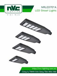 Đèn đường LED NRLED701A NRLED702A NRLED703A NRLED705A