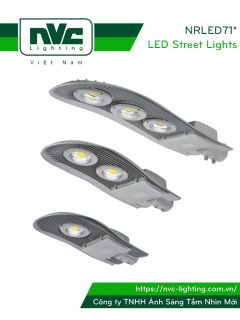 Đèn đường LED NRLED710 NRLED711 NRLED712