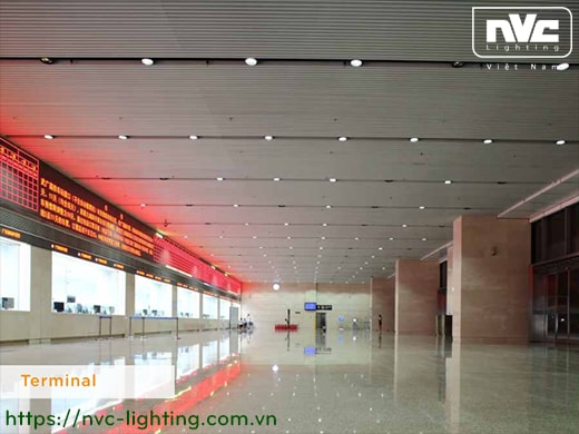 NDLLED928* - Đèn LED downlight lắp nổi COB nguyên khối, mặt kính lõm, chóa phản quang