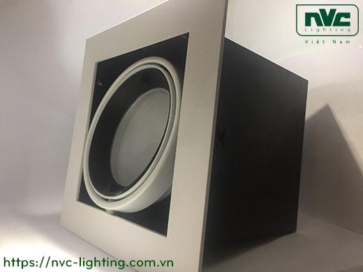 NDL591BH NDL592BH - Đèn multiple downlight âm trần dùng bóng metal G12 150W max, vành nhôm đúc sơn tĩnh điện, khung sắt sơn tĩnh điện chống gỉ