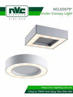 NCLED5791 NCLED5792 - Đèn LED ốp nổi chống côn trùng, IP54, nhôm đúc nguyên khối, chip Cree 25W