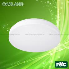OAKLAND 10W 17W 27W - Đèn LED ốp trần cảm biến hồng ngoại cao cấp, mặt đèn nhựa dẻo xuyên sáng 90%