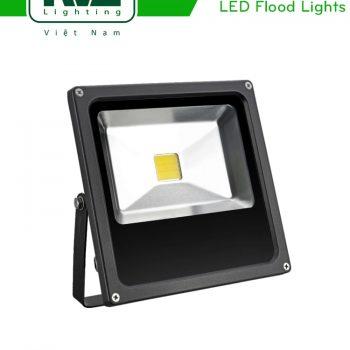NFL107C 20W 30W 50W - Đèn pha LED ngoài trời COB IP65, thân nhôm đúc nguyên khối phủ sơn tĩnh điện chống ăn mòn, mặt kính chịu lực chịu nhiệt chống chói, góc chiếu 120°