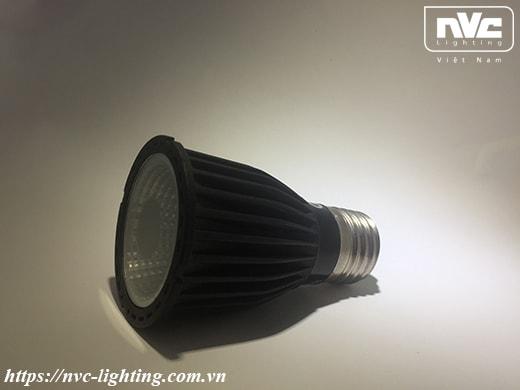 MR16 E27 - Bóng đèn LED lắp chóa thả bàn ăn, chiếu rọi đui xoáy E27 MR16, thân nhôm đúc nguyên khối, chip NICHIA