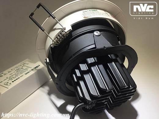 Đèn rọi âm trần NLED104D (Cree WaveMax)