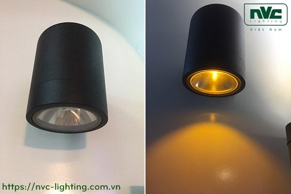 NWLED3543 NWLED3544 - Đèn LED gắn tường 9.4W-18.5W 45°, chiếu 1 đầu & 2 đầu, chip COB Bridgelux, thân nhôm đúc, kính cường lực trong, IP54