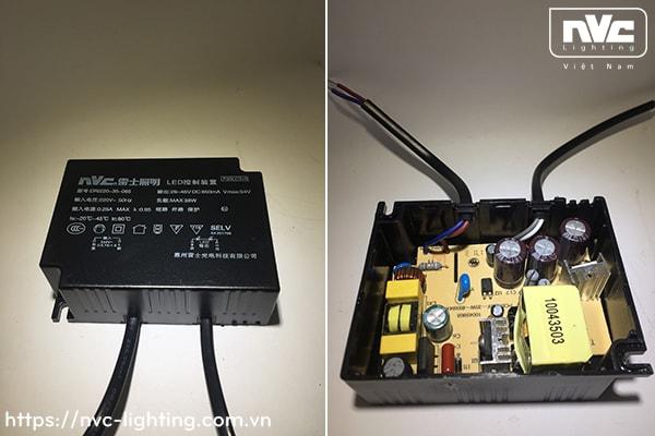 NLED5831A - Đèn LED multiple light CRI 90, vành hợp kim nhôm cao cấp phủ sơn tĩnh điện chống oxy hóa, vân tán quang, vành xoay 40°