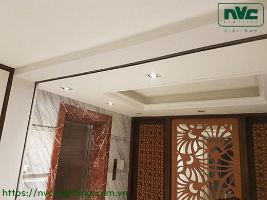 NDL501SB NDL502SB - Đèn multiple downlight âm trần đơn bóng hoặc đôi bóng, 2 vành xoay, bóng lắp rời MR16