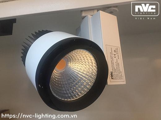 NTRLED306P 35W & 45W - Đèn LED rọi ray COB nguyên khối, sơn tĩnh điện chống oxy hóa, vân tán sáng, góc chiếu 24°, 38°