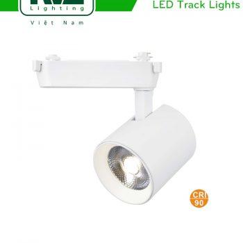 NTRLED335 TLED335 - Đèn rọi ray COB liền khối, mắt ngọc chống chói, vân kim cương, CRI 90