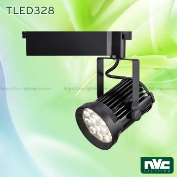 TLED328 35W - Đèn LED rọi ray SMD liền khối, vân tán sáng, thân nhôm đúc