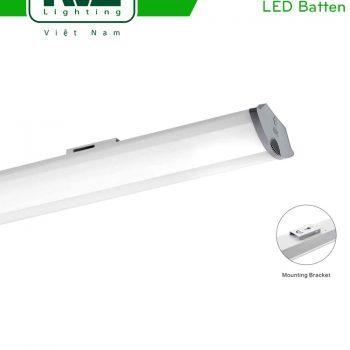 NLED491A - Đèn tuýp LED bán nguyệt lắp nổi/treo, thân nhôm sơn tĩnh điện