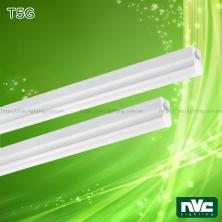 T5G - Bộ đèn tuýp LED T5 chụp nhựa chống chói, máng hợp kim nhôm cao cấp tản nhiệt nhanh, bề mặt xử lý nhôm hóa anos, chip ETI, Ra 80, góc chiếu 150°, IP20
