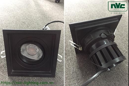 NMTLED5851A 9W, NMTLED5852A 2x9W, NMTLED5853A 3x9W – Đèn LED multiple downlight LED COB mặt lõm, mắt ngọc chống chói