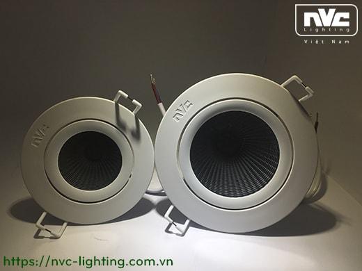 Đèn rọi âm trần NLED1183 NLED1185 NLED1187 NLED1189 NVC Lighting