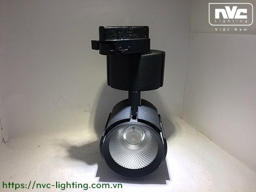 TLED332* 20W 30W, CRI 90 - Đèn rọi LED COB nguyên khối 3 trong 1 (lắp thanh ray, đế gắn tường, lắp âm trần), thân nhôm đúc sơn tĩnh điện